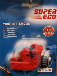Труборез Super-Ego MINI CUTTER 728  3-28 ММ